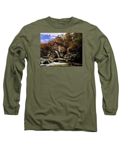 Glade Creek Grist Mill Long Sleeve T-Shirt by Mark Allen