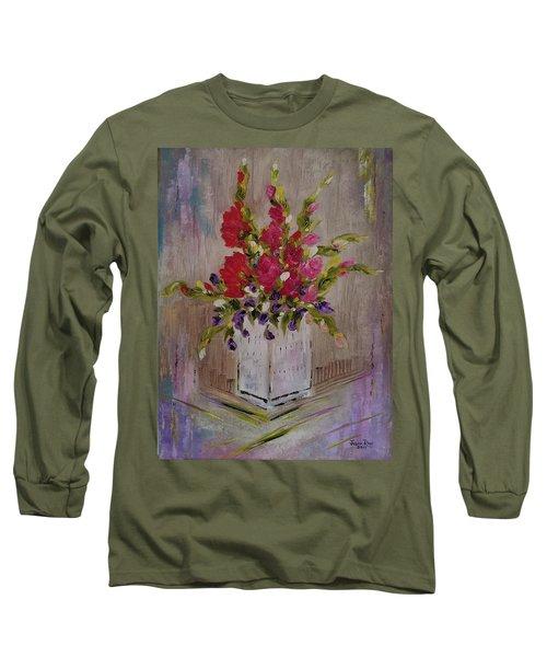 Gladiolus On Point Long Sleeve T-Shirt