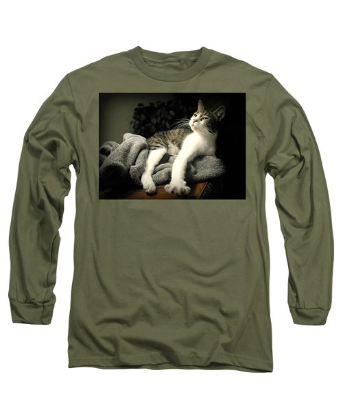 Higgins Long Sleeve T-Shirt by Diana Angstadt