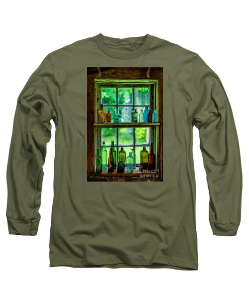 Glass Bottles Long Sleeve T-Shirt
