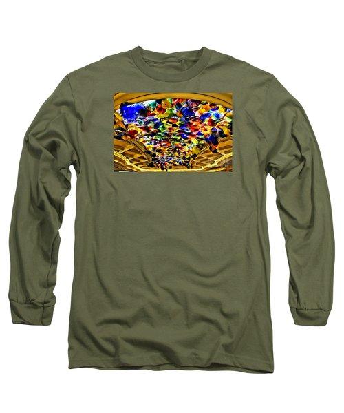 Glass Flowers Long Sleeve T-Shirt