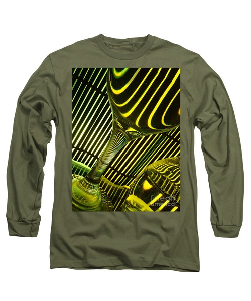 Long Sleeve T-Shirt featuring the photograph Glasses And Lines by Trena Mara