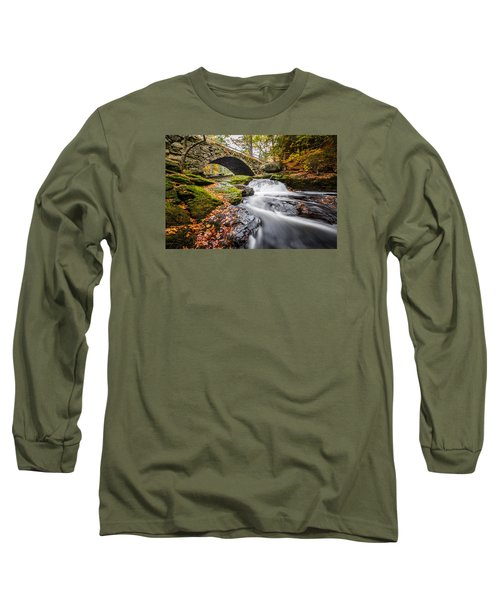 Long Sleeve T-Shirt featuring the photograph Gleason Falls by Robert Clifford