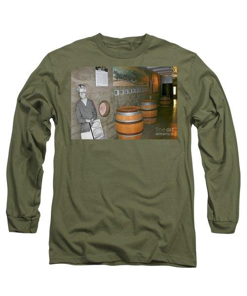 Glen Ellen Wine And History Long Sleeve T-Shirt