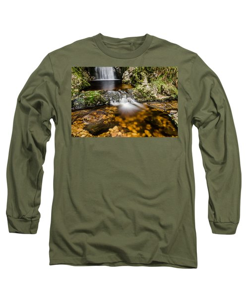 Glenevin Waterfall Clonmany Long Sleeve T-Shirt by Martina Fagan