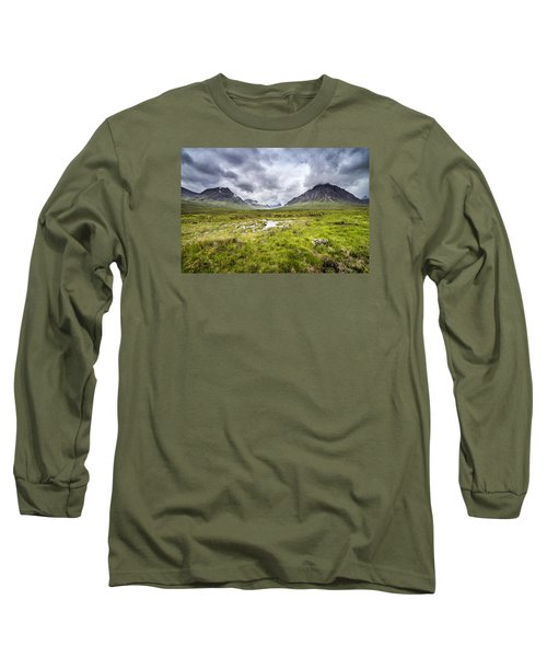 Long Sleeve T-Shirt featuring the photograph Glencoe by Jeremy Lavender Photography