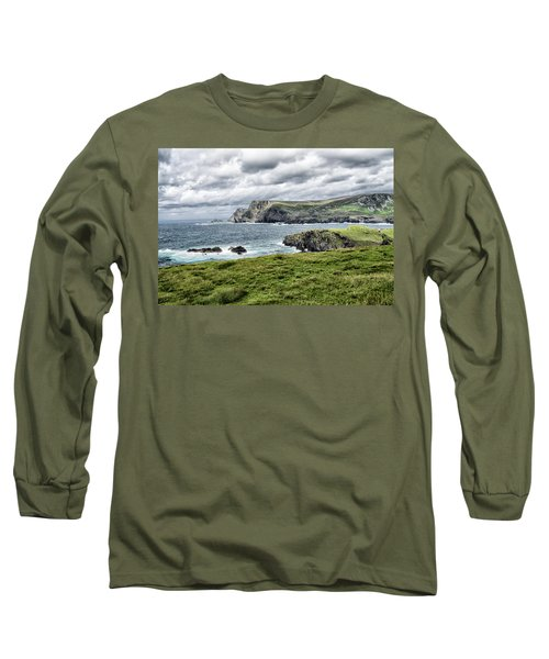 Long Sleeve T-Shirt featuring the photograph Glencolmcille by Alan Toepfer