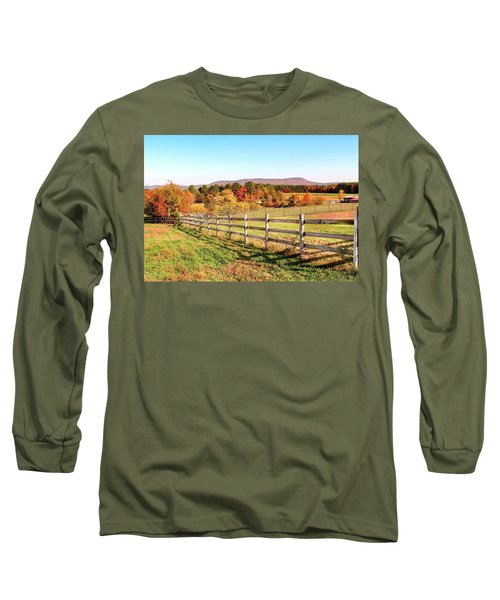 Glendale Road View In The Fall Long Sleeve T-Shirt