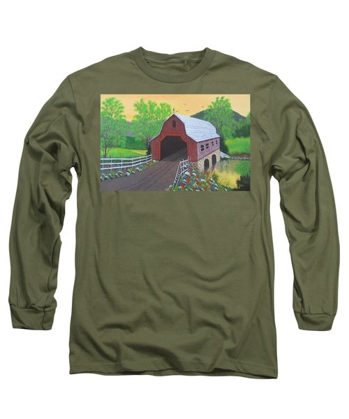 Glenda's Covered Bridge Long Sleeve T-Shirt