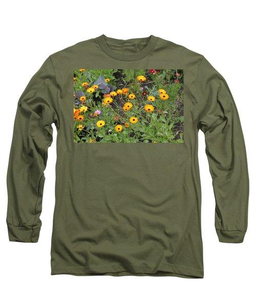 Glenveagh Castle Gardens 4279 Long Sleeve T-Shirt