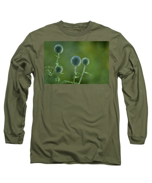 Globe Thistles Echinops Long Sleeve T-Shirt