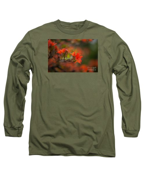 Glorious Blooms Long Sleeve T-Shirt by Mike Reid