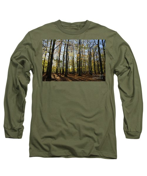 Long Sleeve T-Shirt featuring the photograph Glorious Forest by Kennerth and Birgitta Kullman