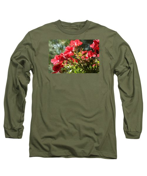 Long Sleeve T-Shirt featuring the photograph Glory To Thee O Lord by Jake Hartz