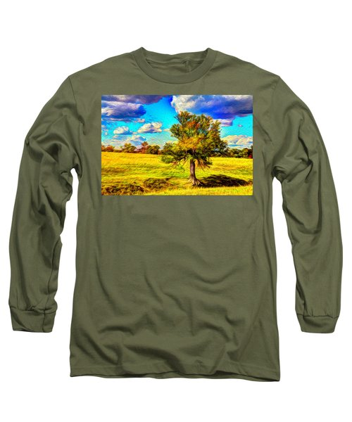 Glowing Afternoon Long Sleeve T-Shirt