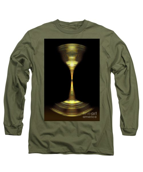Glowing Brass Lamp Stand Long Sleeve T-Shirt