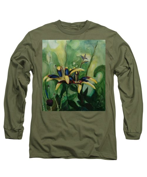 Glowing Flora Long Sleeve T-Shirt