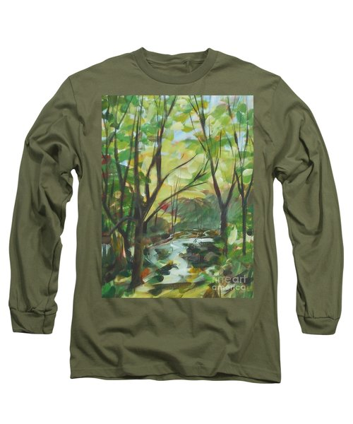 Glowing From The Flood Long Sleeve T-Shirt
