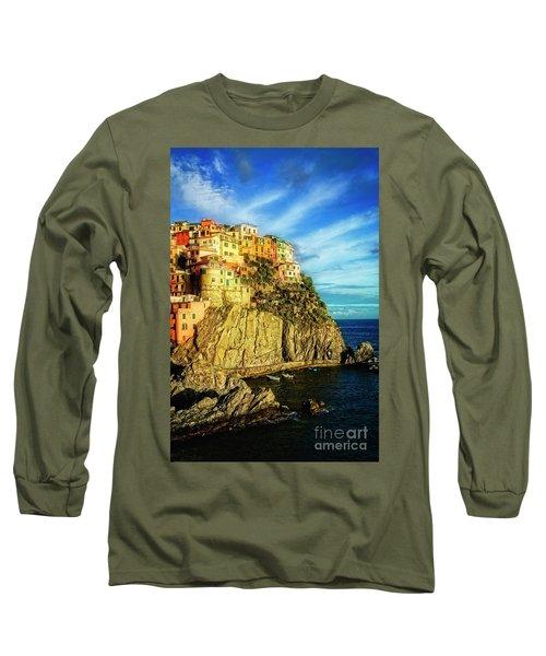 Glowing Manarola Long Sleeve T-Shirt