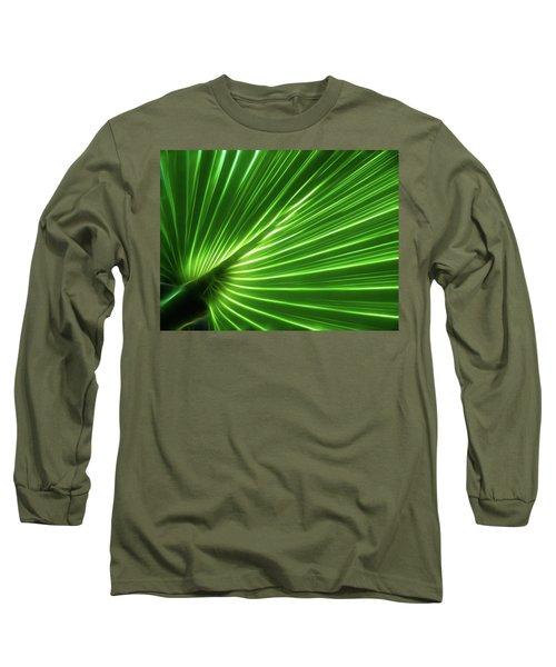 Glowing Palm Long Sleeve T-Shirt