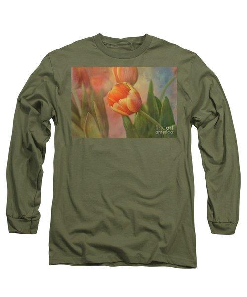 Glowing Tulip Long Sleeve T-Shirt