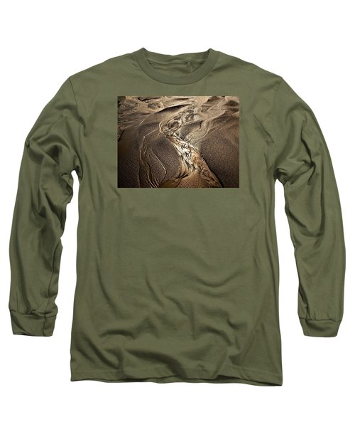 Long Sleeve T-Shirt featuring the photograph Go With The Flow by Laura Ragland