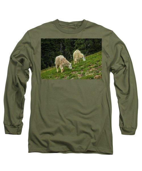 Goat Garden Long Sleeve T-Shirt