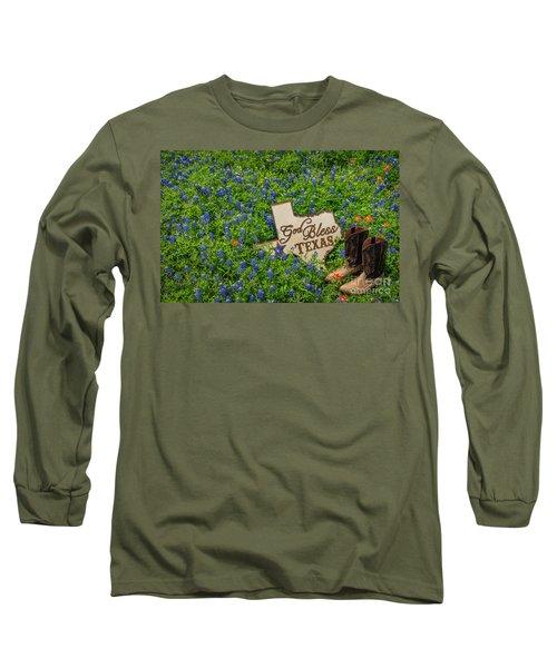 God Bless Texas II Long Sleeve T-Shirt