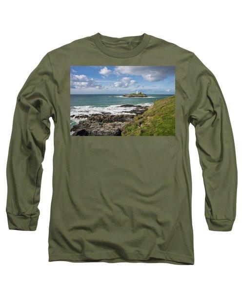 Godrevy Lighthouse 3 Long Sleeve T-Shirt
