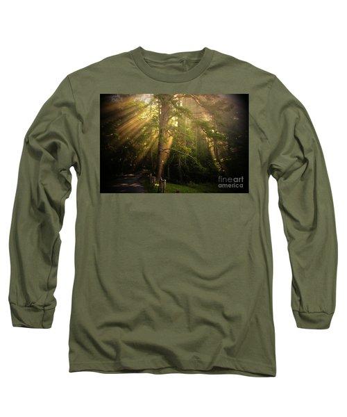 God's Light 2 Long Sleeve T-Shirt by Geraldine DeBoer
