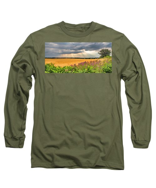 Long Sleeve T-Shirt featuring the photograph Gods Light by Nick Bywater