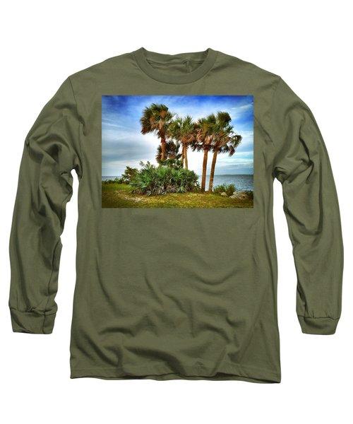 God's Nest Long Sleeve T-Shirt by Carlos Avila