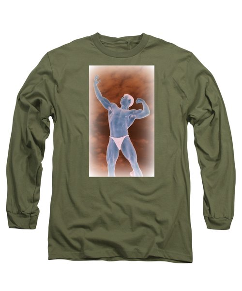 Long Sleeve T-Shirt featuring the photograph Gods Of Olympus by Jake Hartz