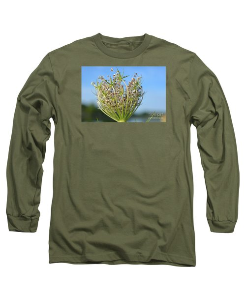 Long Sleeve T-Shirt featuring the photograph Going To Seed by Lila Fisher-Wenzel