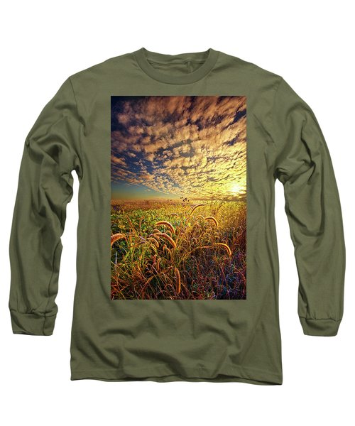 Long Sleeve T-Shirt featuring the photograph Going To Sleep by Phil Koch