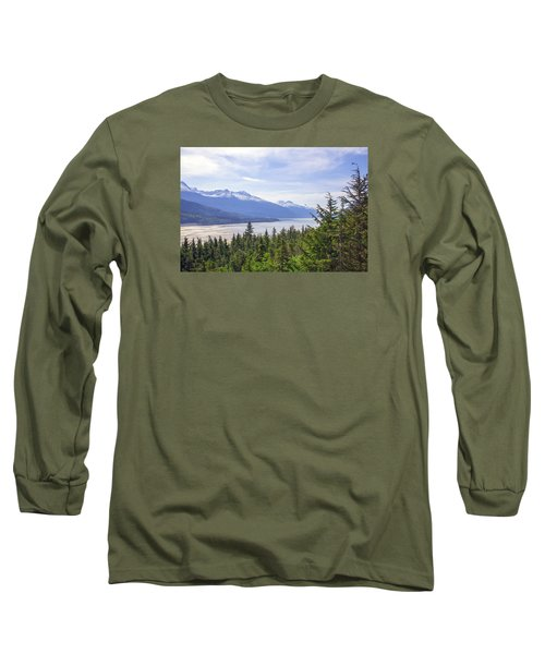 Going Up The Mountain Long Sleeve T-Shirt by Allan Levin