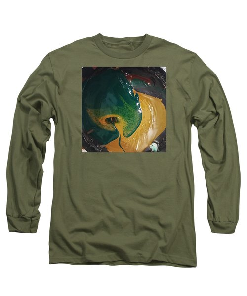 Gojira Basking By The Docks In Delhi Long Sleeve T-Shirt