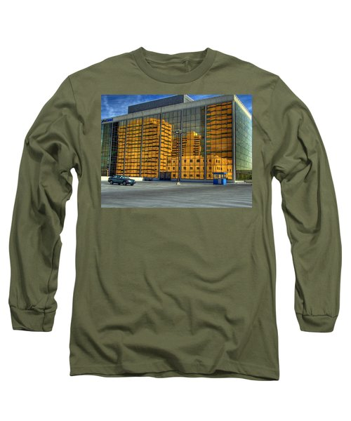 Long Sleeve T-Shirt featuring the photograph Gold In The Bank by Farol Tomson