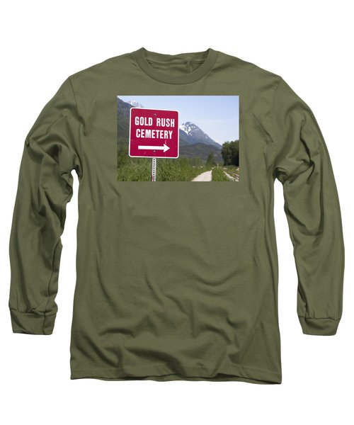 Gold Rush Cemetery Long Sleeve T-Shirt