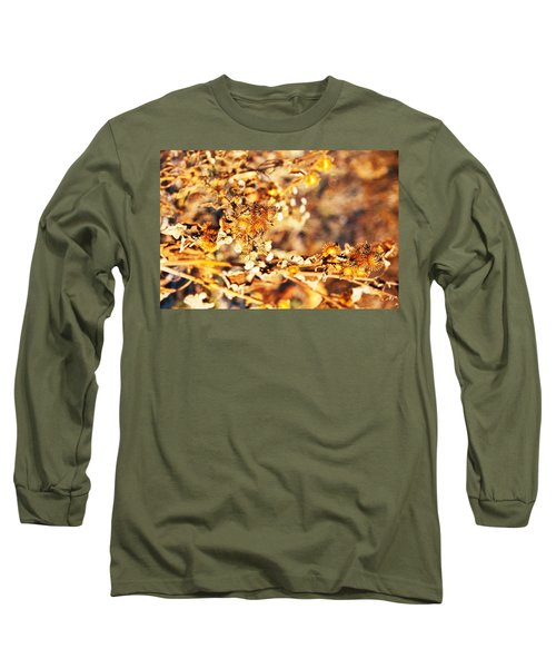 Gold Rush Long Sleeve T-Shirt by Jose Rojas