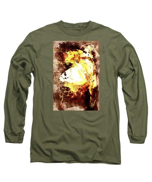Golden Butterfly Long Sleeve T-Shirt