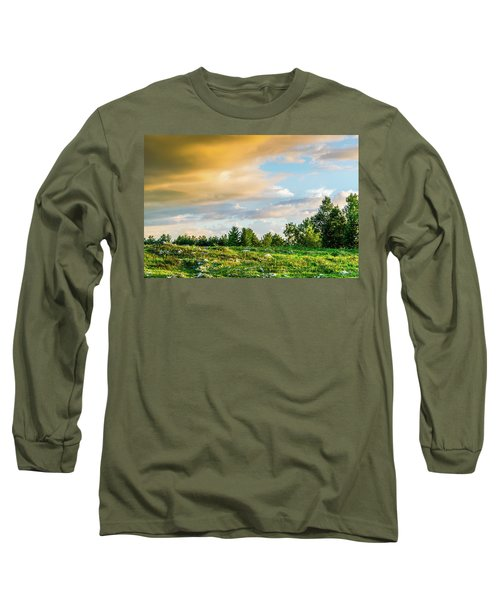 Golden Clouds Long Sleeve T-Shirt