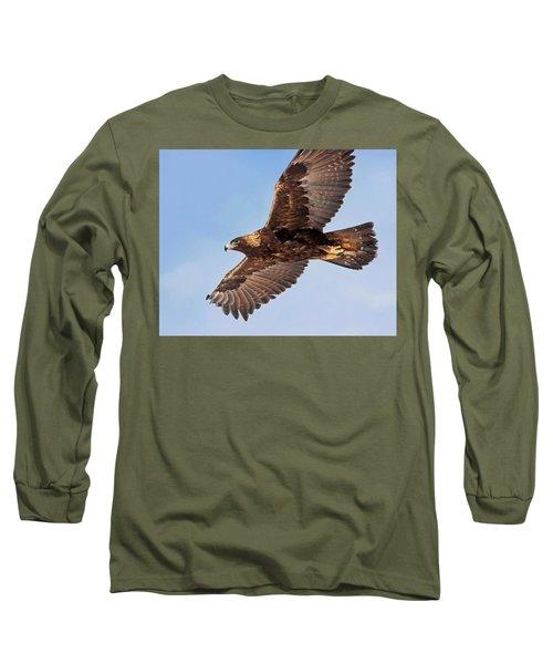 Golden Eagle Flight Long Sleeve T-Shirt