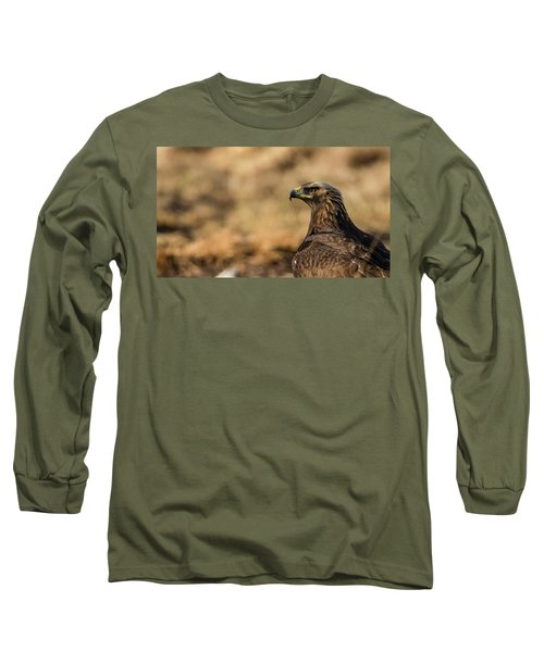 Golden Eagle Long Sleeve T-Shirt by Torbjorn Swenelius