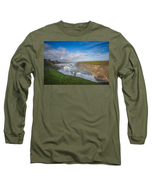 Golden Falls, Gullfoss Iceland Long Sleeve T-Shirt
