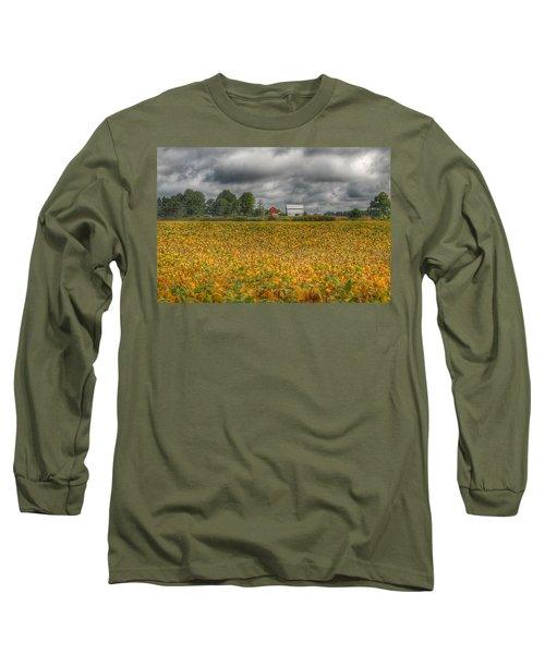 0012 - Golden Fields Farm Long Sleeve T-Shirt