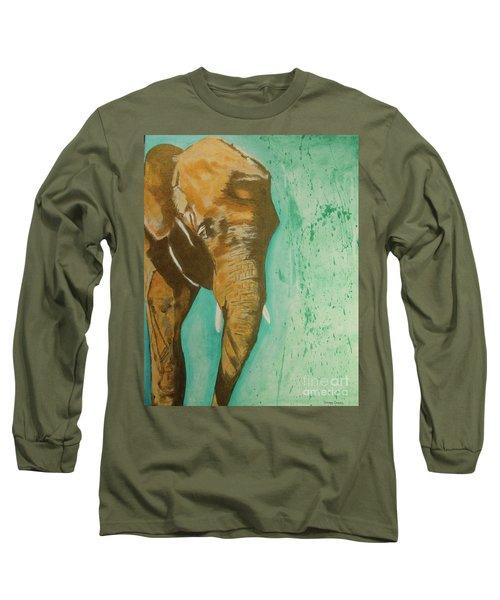 Golden Giant Long Sleeve T-Shirt by Stuart Engel