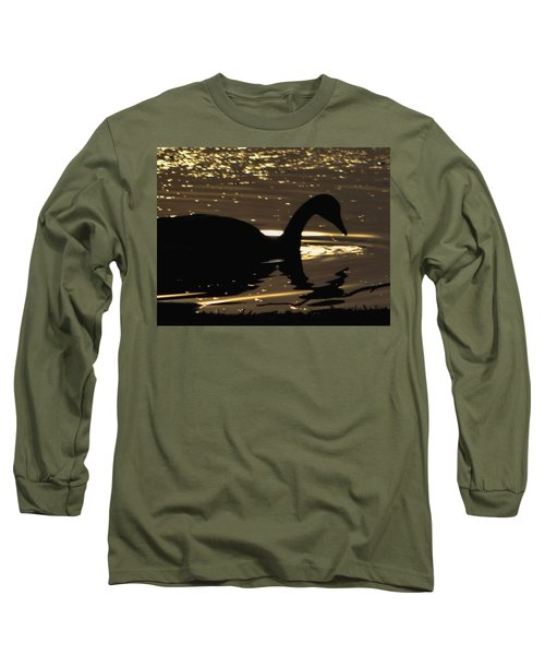 Golden Girl Long Sleeve T-Shirt by Robert McCubbin