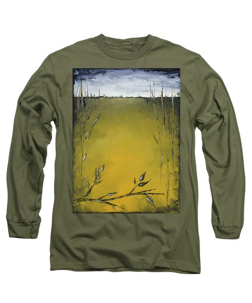 Golden Greens Long Sleeve T-Shirt