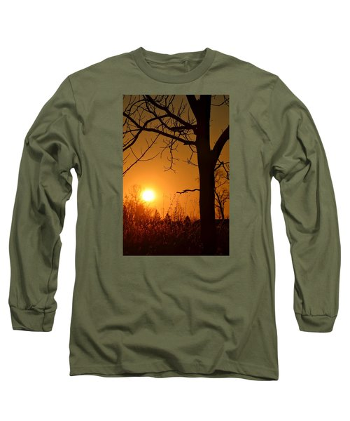 Golden Hour Daydreams Long Sleeve T-Shirt by Nikki McInnes